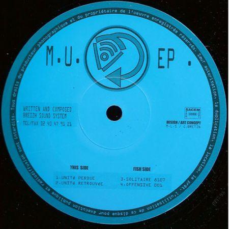 Breizh Sound System - M.U. Ep