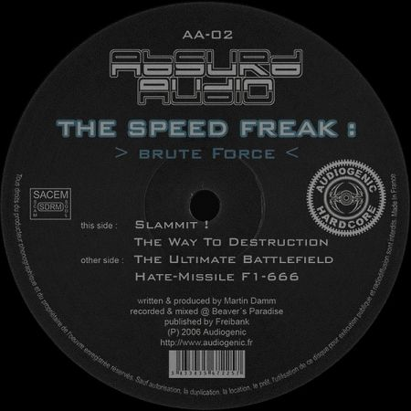 The Speed Freak- Brute Force