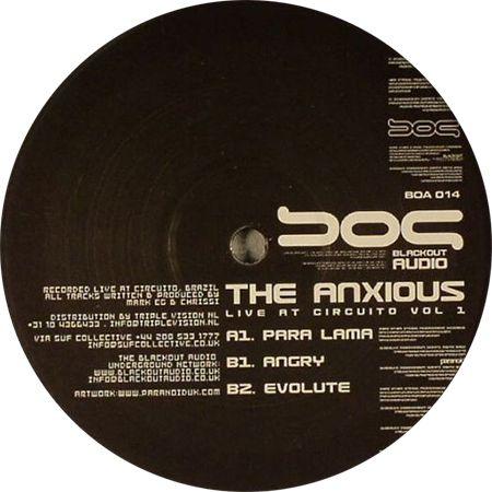 The Anxious - Live At Circuito