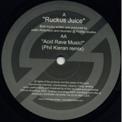 Justin Robertson - Ruckus