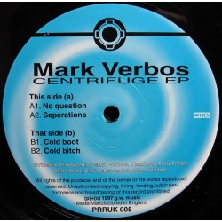 Mark Verbos - Centrifuge EP