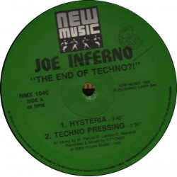 Joe Inferno - The End Of...