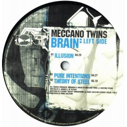 Meccano Twins - Brain: Left