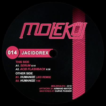 Jacidorex - Acid Flashback EP