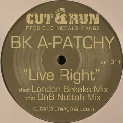 BK A-Patchy - Live Right
